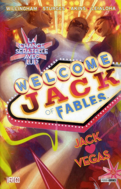 Couverture jack of fables tome 2 - jack vegas