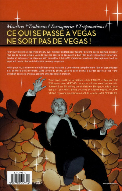 Dos jack of fables tome 2 - jack vegas