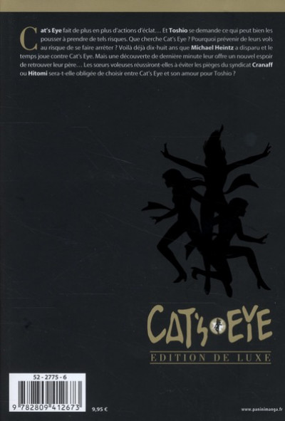 Dos cat's eye tome 14