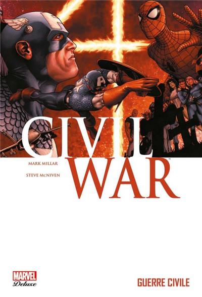 Couverture Civil war tome 1