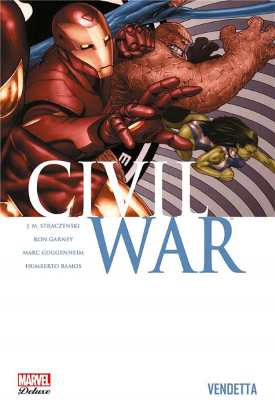 Couverture Civil war tome 2