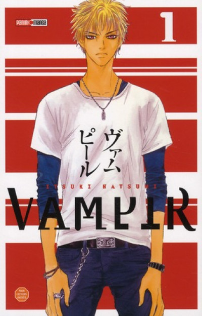 Couverture vampir tome 1