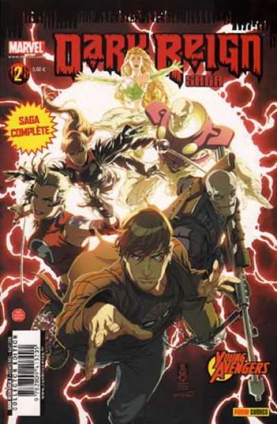 Couverture Dark Reign Saga tome 2