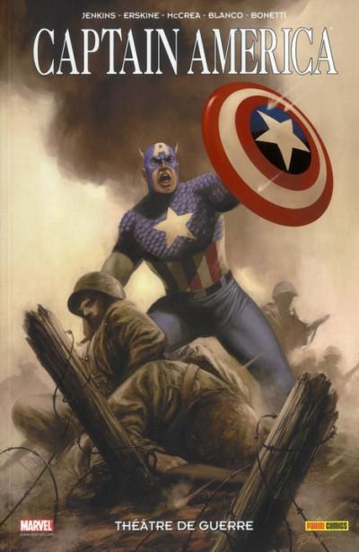 Couverture captain america ; théâtre de guerre