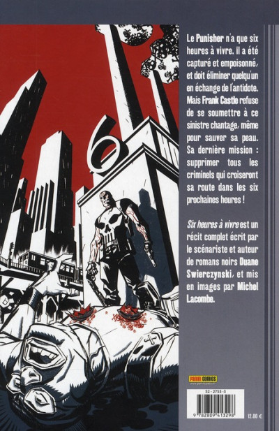 Dos the punisher tome 16 - six heures à vivre