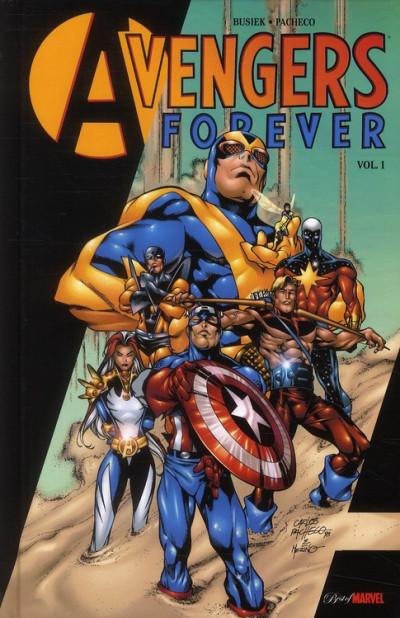 Couverture avengers forever tome 1