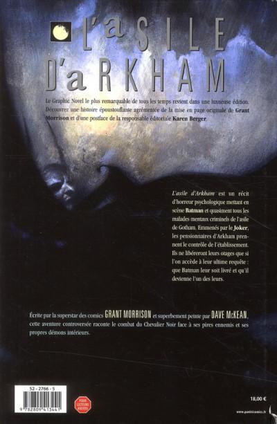 Dos batman ; l'asile d'arkham