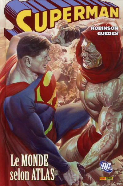 Couverture superman ; the coming of atlas