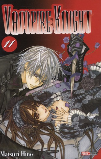 Couverture vampire knight tome 11