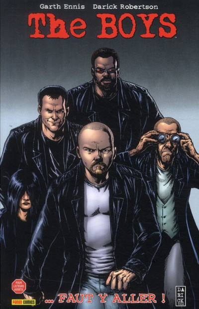 Couverture The boys - fusion comics tome 7