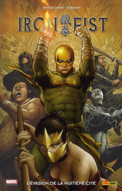 Couverture iron fist tome 5