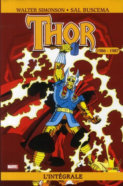 Couverture thor ; l'intégrale 1986-1987