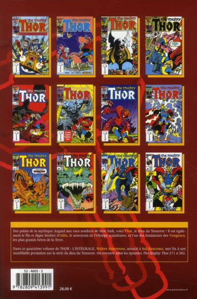 Dos thor ; l'intégrale 1986-1987