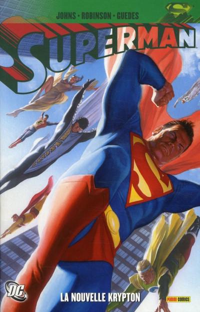 Couverture superman - la nouvelle Krypton tome 1