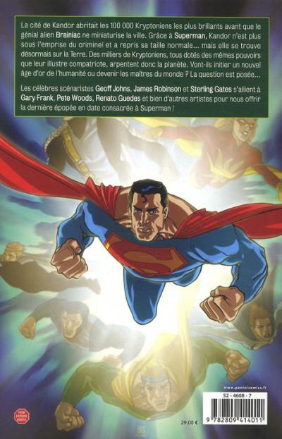 Dos superman - la nouvelle Krypton tome 1