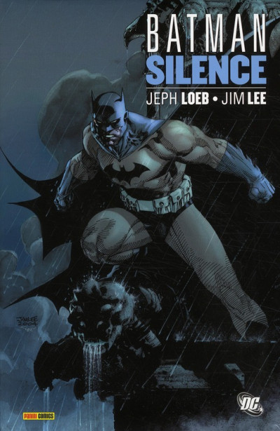 Couverture batman ; silence