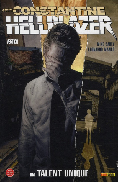 Couverture hellblazer tome 8