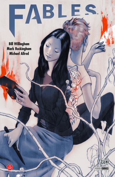 Couverture fables tome 11