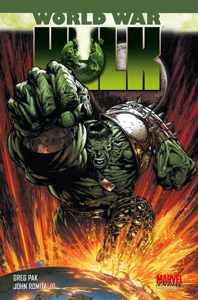 Couverture world war Hulk