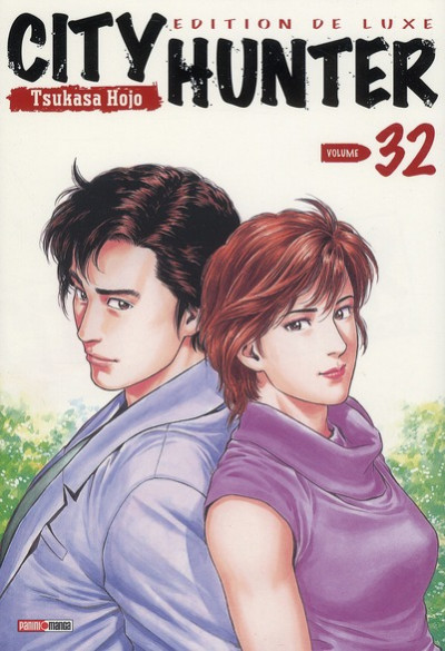 Couverture city hunter tome 32