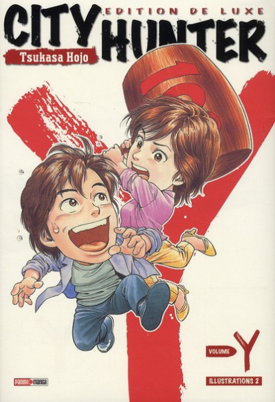 Couverture city hunter - y illustration book tome 2