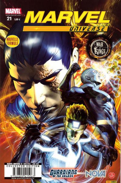 Couverture Marvel universe tome 21