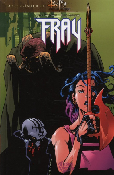Couverture buffy contre les vampires tome 7 - fray
