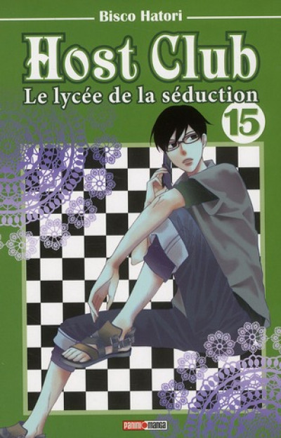 Couverture host club tome 15