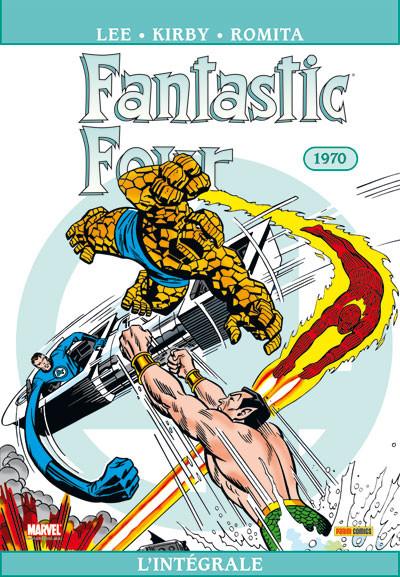 Couverture Fantastic Four ; INTEGRALE VOL.9 ; 1970