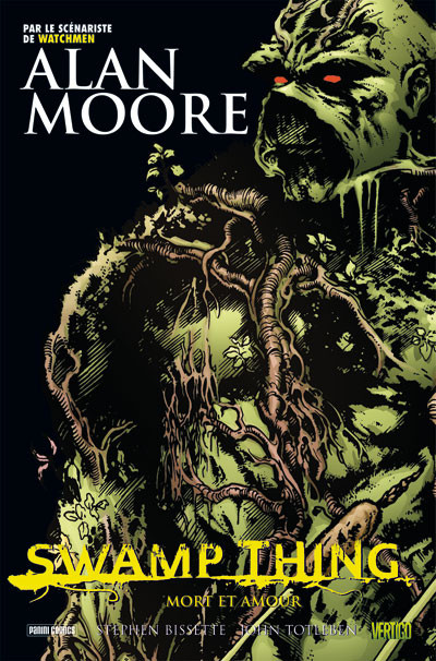 Couverture swamp thing tome 2