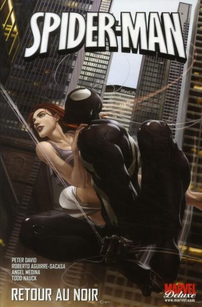 Couverture spider-man ; Retour au noir - back in black