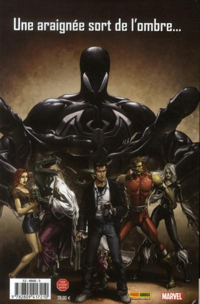 Dos spider-man ; Retour au noir - back in black