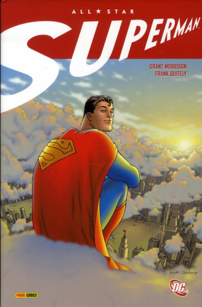 Couverture Superman ; all star Superman