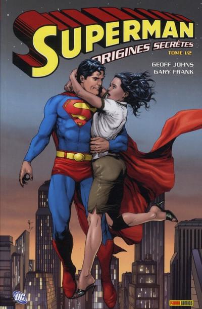 Couverture Superman - origines secrètes tome 1