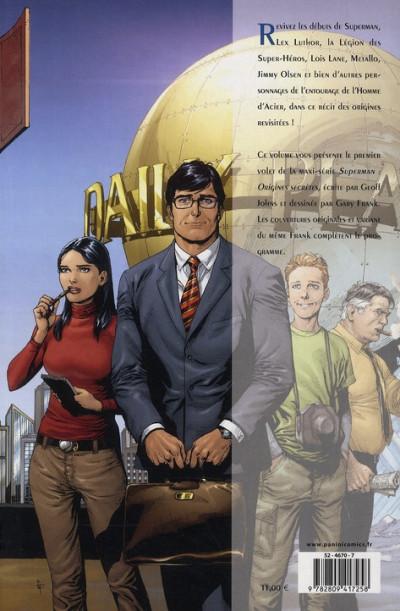 Dos Superman - origines secrètes tome 1