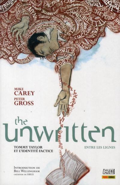 Couverture The unwritten - entre les lignes tome 1 - Tommy Taylor et l'identité factice