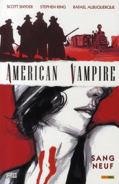 Couverture american vampire T.1 - sang neuf
