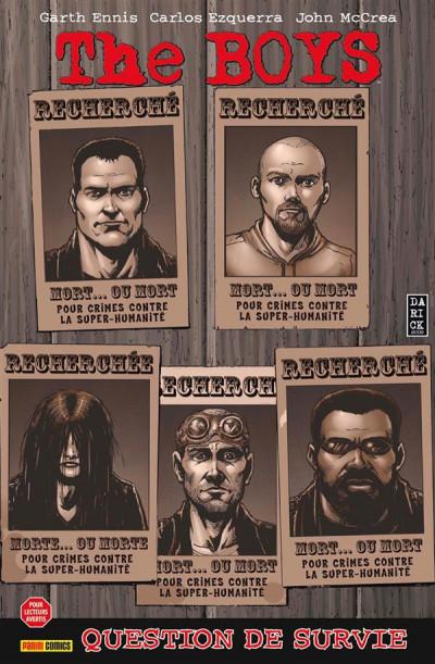 Couverture The boys - fusion comics tome 9