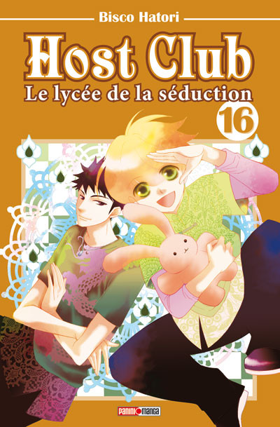 Couverture host club tome 16