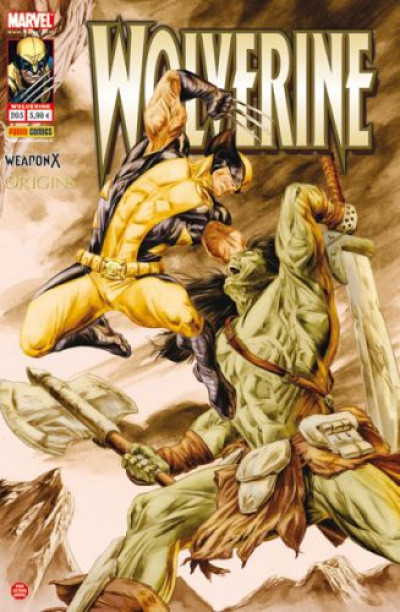 Couverture Wolverine N.203