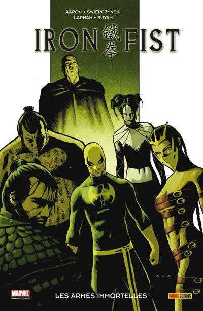 Couverture Iron Fist tome 6 - les ames mortelles
