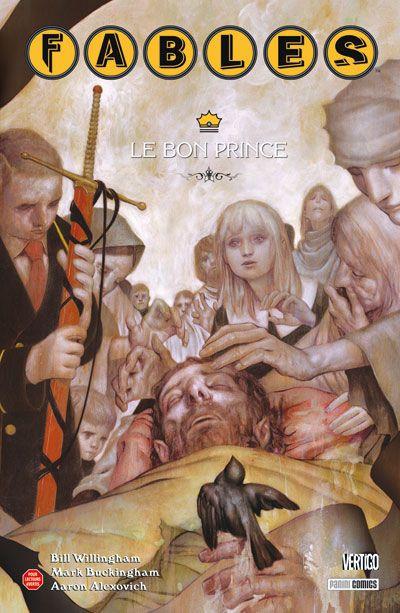 Couverture fables tome 12 - le bon prince