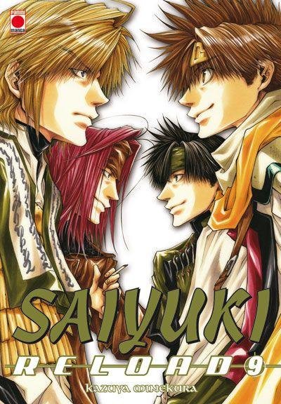 Couverture Saiyuki reload tome 9