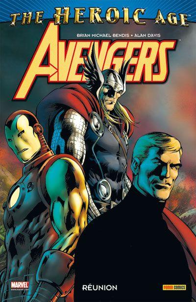 Couverture Avengers ; réunion