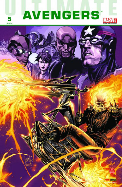 Couverture Ultimate Avengers tome 5