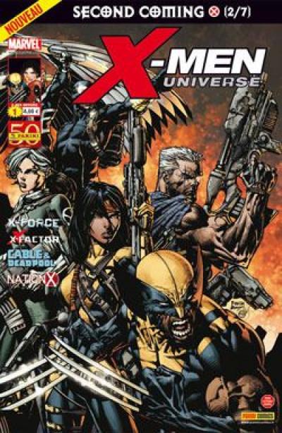 Couverture X-men universe 2011 tome 1