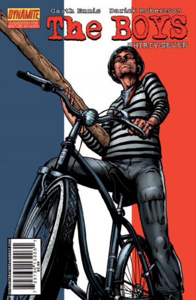 Couverture The boys - fusion comics tome 10