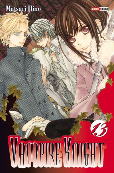 Couverture vampire knight tome 13