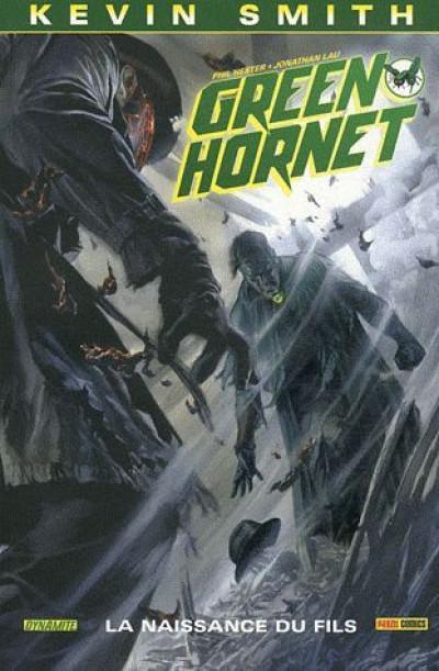 Couverture green hornet tome 2 - la naissance du fils