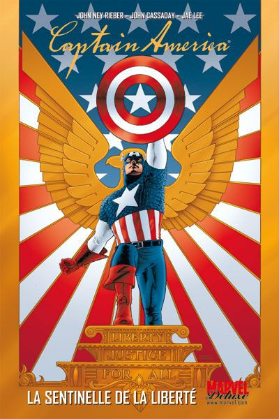 Couverture Captain America T.1 - la sentinelle de la liberté